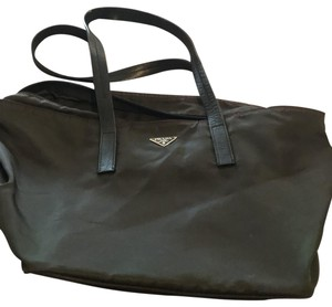 Prada Tote in dark brown - mosto
