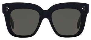 Céline Celine CL 41444/S Black Oversized Square Large Wayfarer