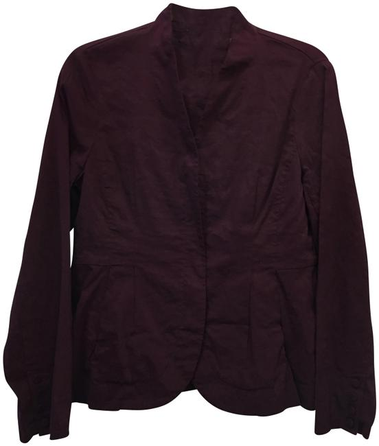 Item - Burgundy Wine Jacket Size Petite 8 (M)