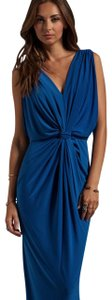 T-Bags Los Angeles Draped Knot Front Dress