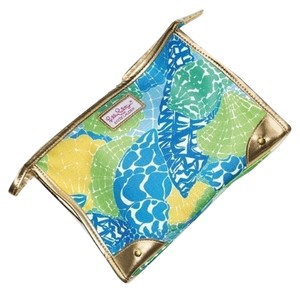 Estee Lauder Estee Lauder Lily Pulitzer Tropical Shell Limited Edition Cosmetic bag