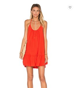 Sincerely Jules short dress Red Summer Strappy Flowy on Tradesy