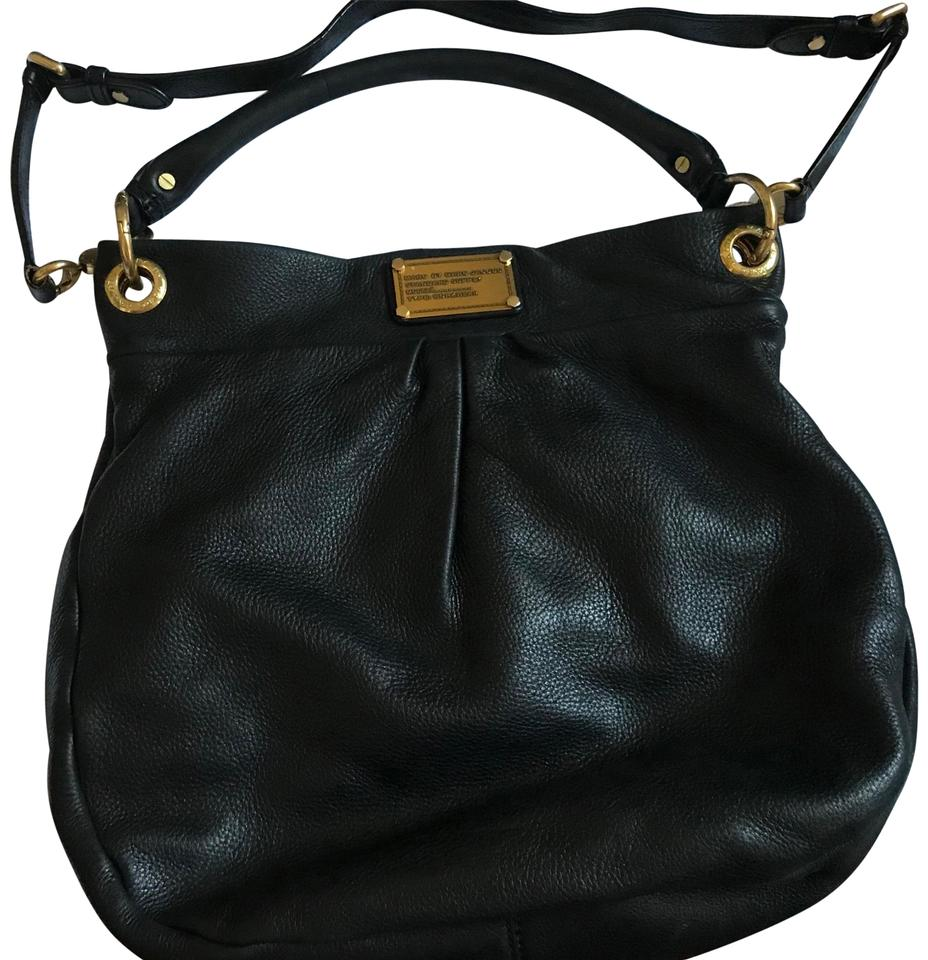 Marc by Marc Jacobs Classic Q Hillier Black Leather Hobo Bag - Tradesy 9a62ea8b4ef5