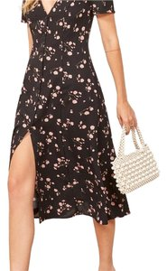 black Maxi Dress by Reformation