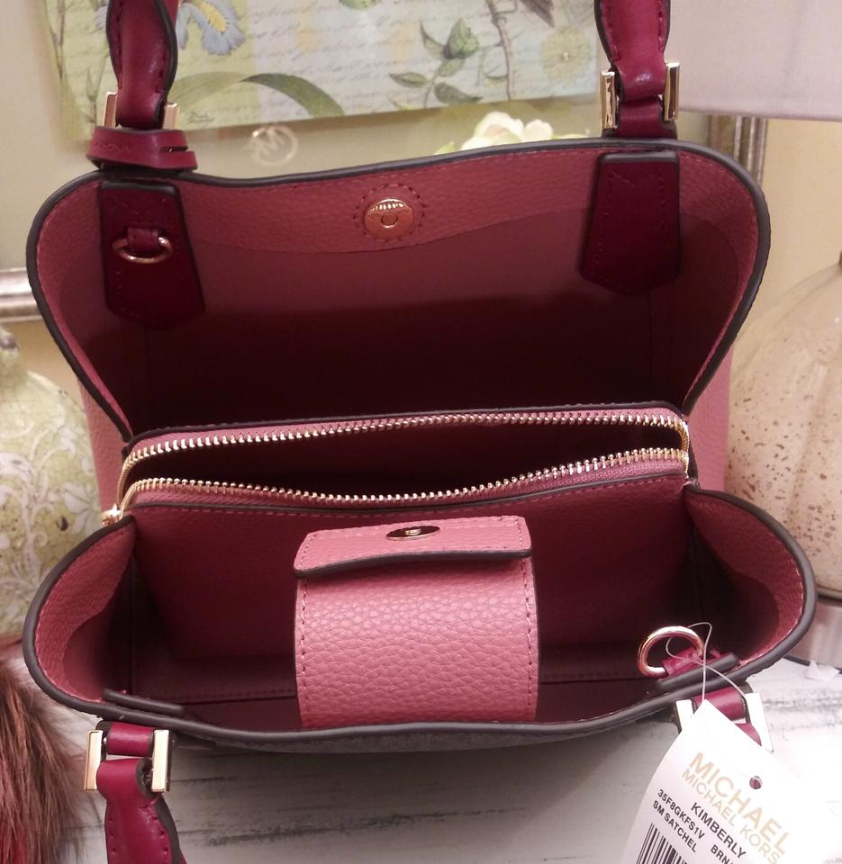 f6794cccd7f9 Michael Kors Kimberly Small Colorblock with Fulton Zip Around Wallet ...