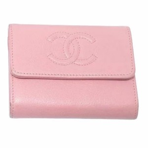 Chanel Chanel Pink Timeless CC Wallet