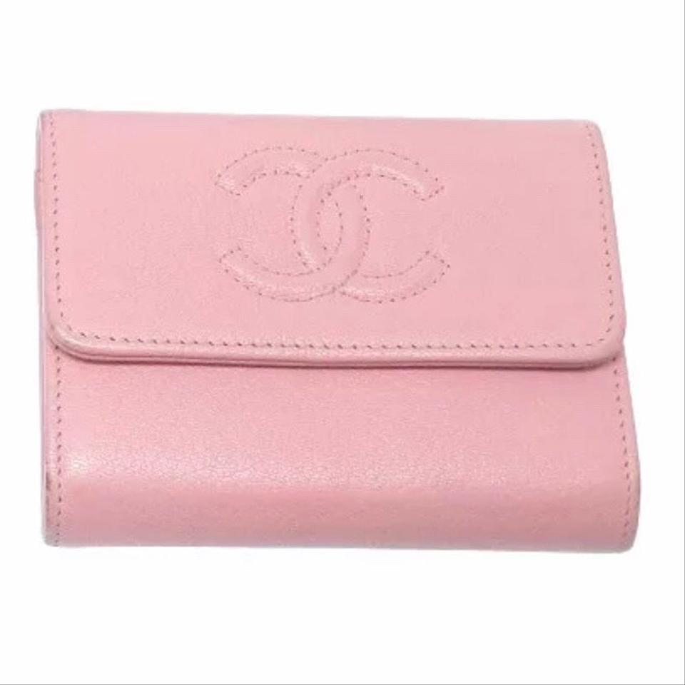 d5fc400cb9a8b3 Chanel Chanel Pink Timeless CC Wallet Image 0 ...