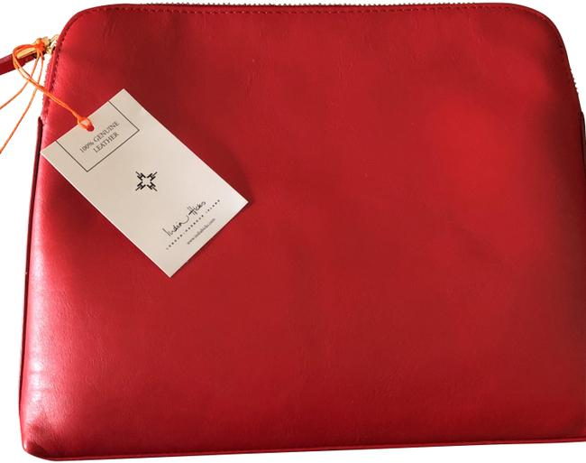 Item - Red Clutch Insider Cosmetic Bag