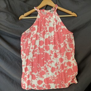 Nordstrom Top Pink and white floral