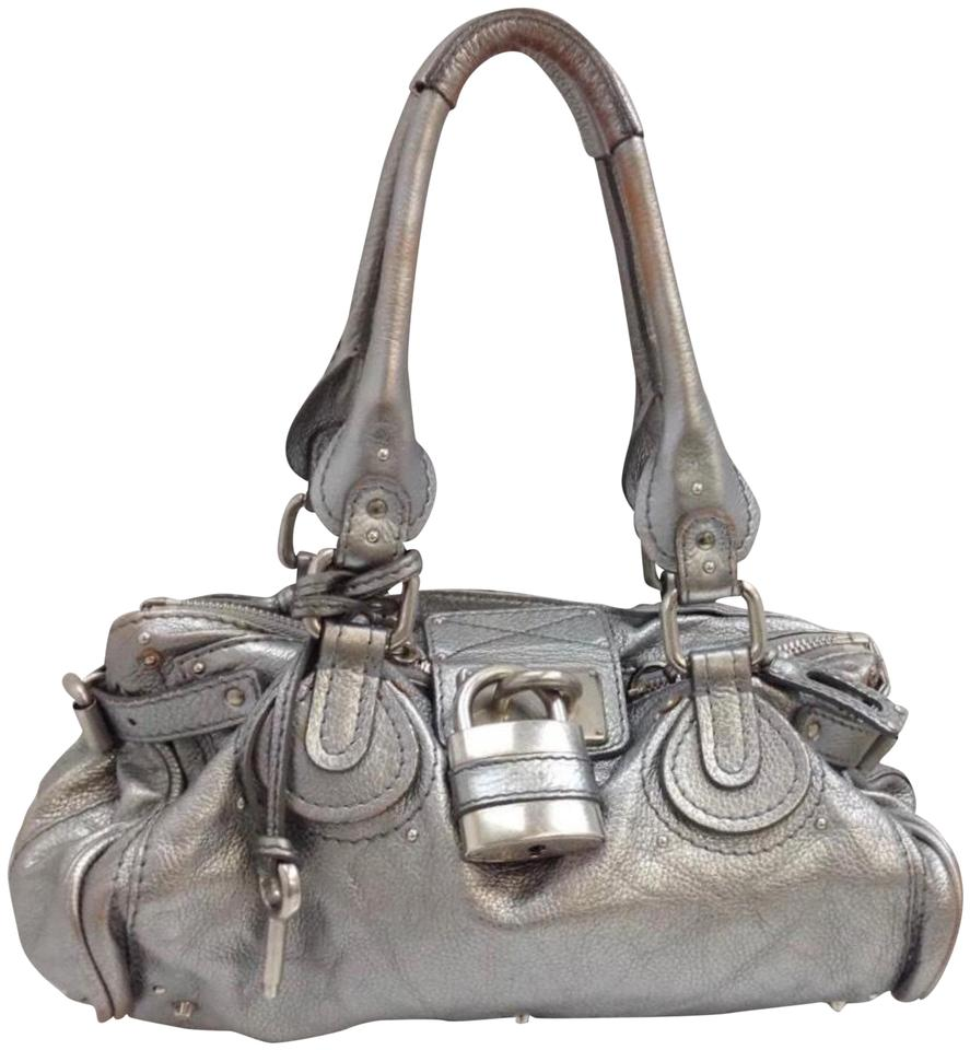 c070dc88196 Chloé Paddington Limited Edition Silver-pewter Color+large Lock ...