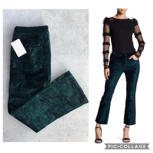 Free People Flare Pants green