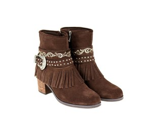 Montana West The Treasured Hippie Cowgirl Designer Affordable Coffee Boots