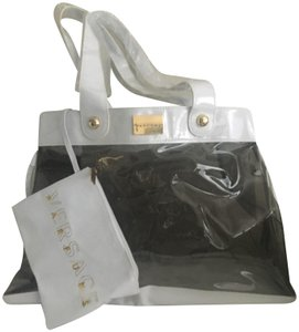 Versace White-Gray Beach Bag