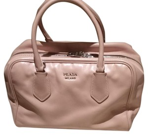 9abcd9c71f Prada Satchel in light pink and light mint green