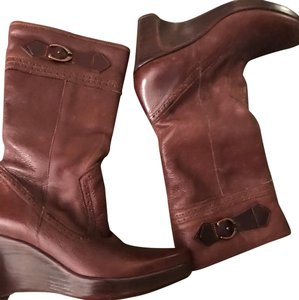 Bass luggage brown Boots