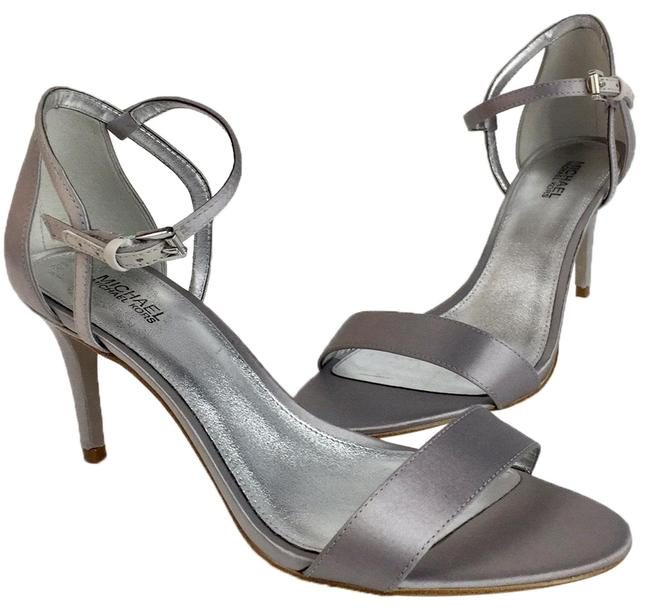 Item - Silver New Classic Ankle Strap Sandals Pumps Size US 10 Regular (M, B)