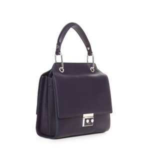 Luana Italy Satchel in Purple