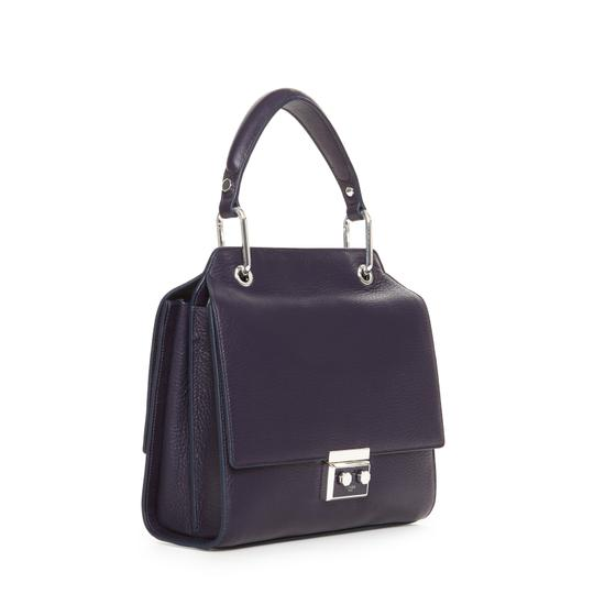 Luana Italy Satchel in Purple Image 0