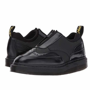 Dr. Martens Black Wedges