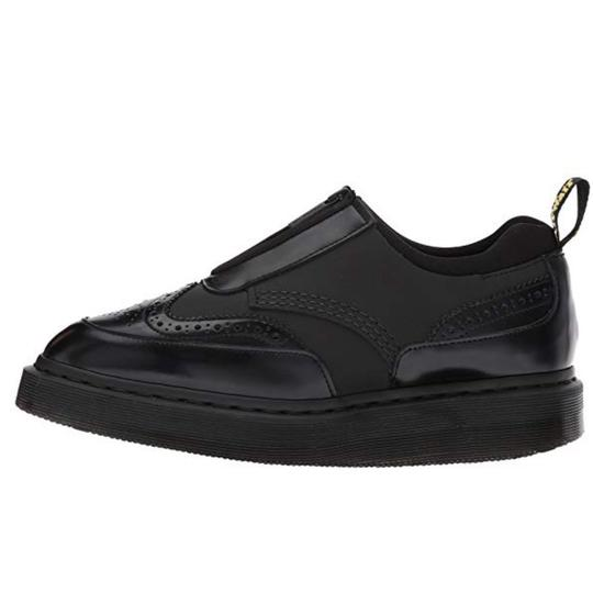 Dr. Martens Black Wedges Image 4