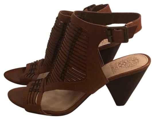 Vince Camuto Deep brown/light brown Sandals Image 0