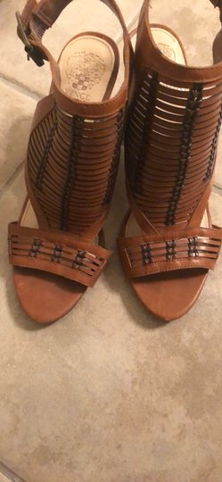 Vince Camuto Deep brown/light brown Sandals Image 1