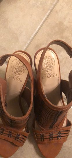 Vince Camuto Deep brown/light brown Sandals Image 2
