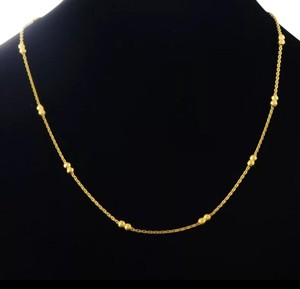 Xquisite by Desygn BEADED CHAIN NECKLACE