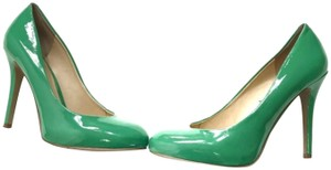 Nine West Patent Leather Green Pumps
