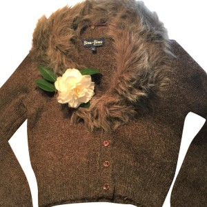 BISOU-BISOU FRANCE Chocolate Mohair Sweater
