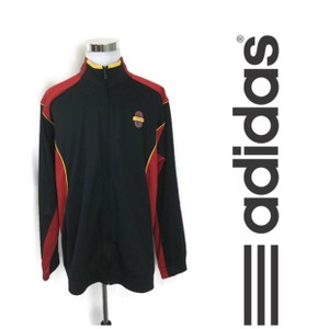adidas Black/Red Men's Climacool Track Jacket Tmac Shirt