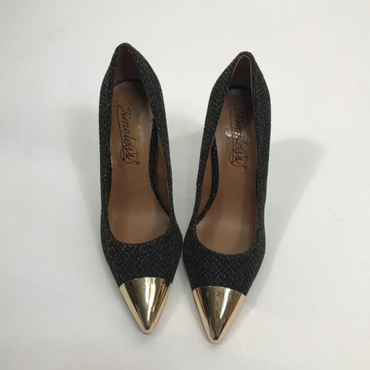 Dorothy Perkins Pointed Toe Black Pumps Image 1