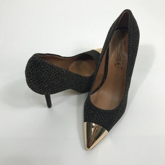 Dorothy Perkins Pointed Toe Black Pumps Image 5