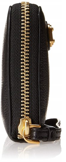 Marc by Marc Jacobs New Q Wingman Leather Wallet Purse Leather Purse Wristlet in Black Image 2