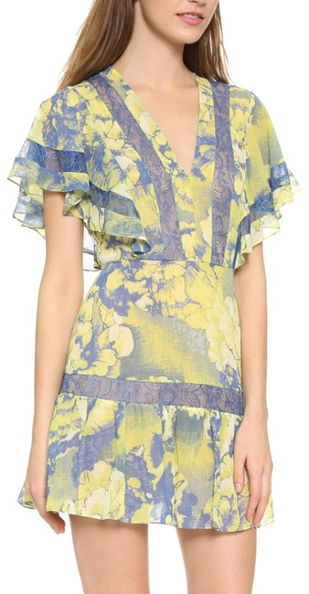 Item - Lime Karian Short Night Out Dress Size 4 (S)