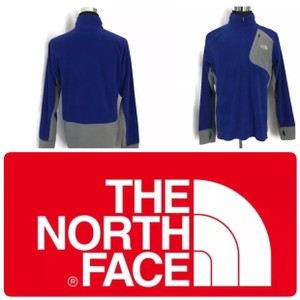 The North Face Blue Men's Fleece Jacket Pullover 1/4 Zip Shirt