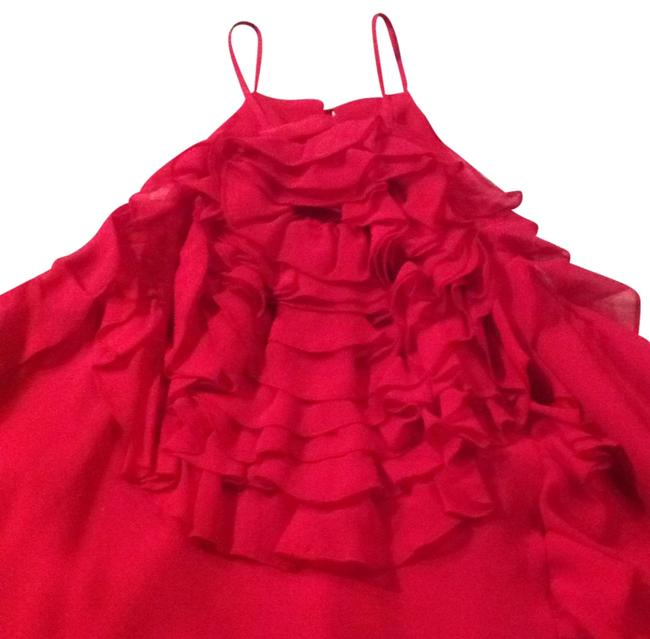 Item - Red Sil12444 Halter Top Size 8 (M)