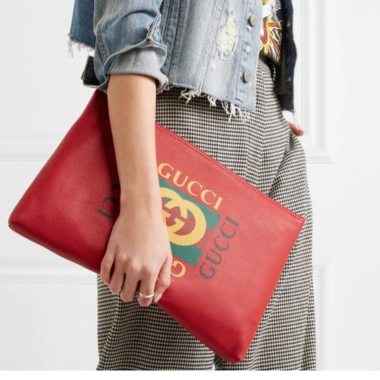 Gucci red Clutch Image 1