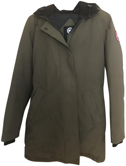 Item - Military Green Victoria Parka Style# 3037l Coat Size 4 (S)