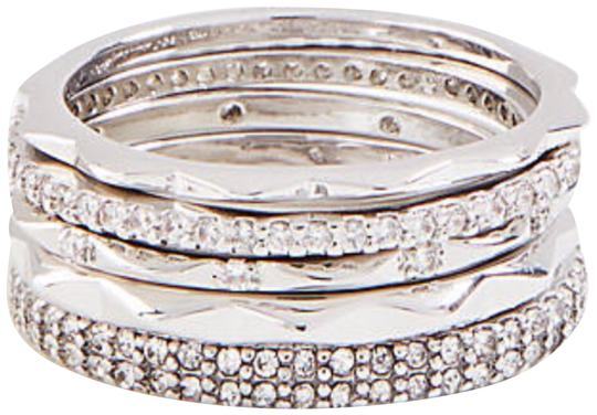 Preload https://img-static.tradesy.com/item/24177058/ann-taylor-silver-crystal-stacked-set-size-8-ring-0-1-540-540.jpg