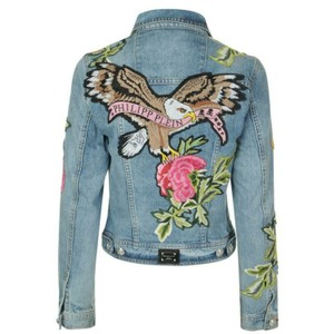 Philipp Plein Womens Jean Jacket