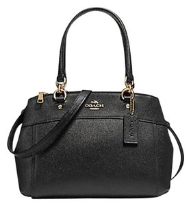 Coach Carryall 34797 36704 Christie Satchel in BLACK