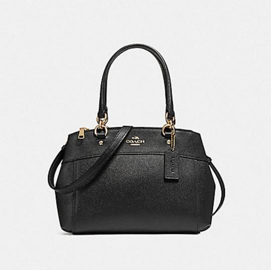 Coach Carryall 34797 36704 Christie Satchel in BLACK Image 4