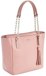 Kate Spade Kingston Drive Vivian Pebbled Leather Pxru8644 Computer Bg Tote in Warm Vellum