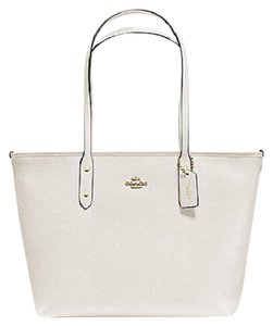 Coach Shoulder 36875 Satchel 36876 Tote in white