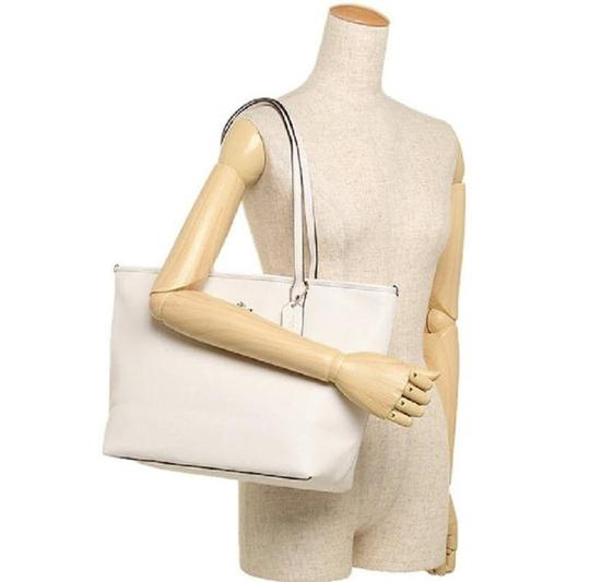 Coach Shoulder 36875 Satchel 36876 Tote in white Image 11