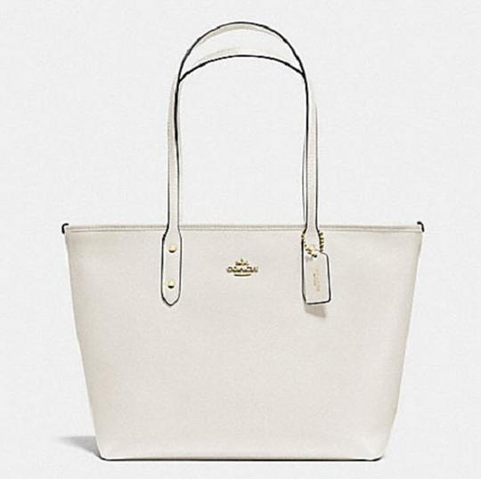 Coach Shoulder 36875 Satchel 36876 Tote in white Image 2