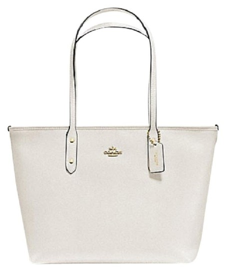 Coach Shoulder 36875 Satchel 36876 Tote in white Image 4