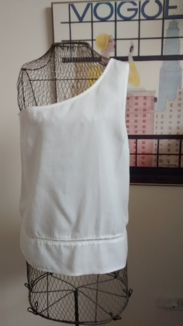 Cloth & Stone The Shoulder Tencel Halter Top white Image 1