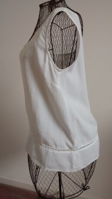 Cloth & Stone The Shoulder Tencel Halter Top white Image 2